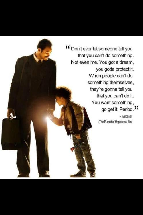 The Pursuit of Happyness (sic)